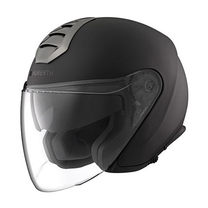Schuberth M1 helmet in London black