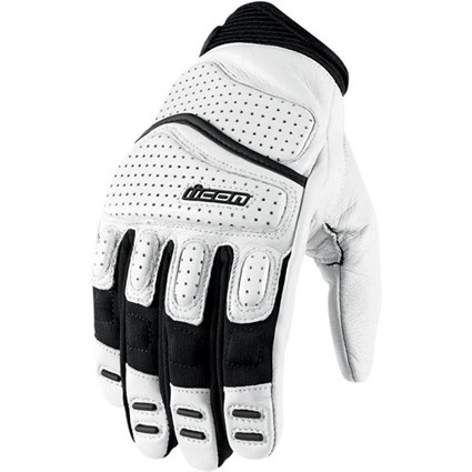 Icon Superduty 2 gloves in white
