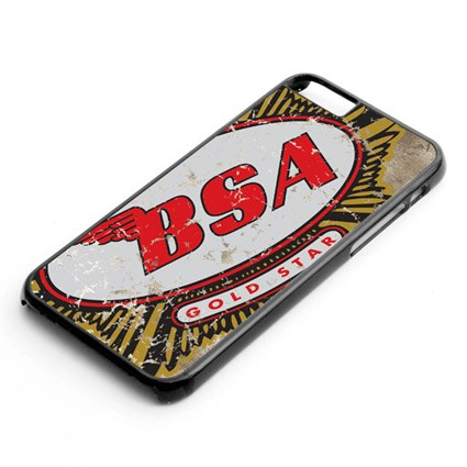 Retro Legends Classic BSA Gold Star iPhone 4/4S cover