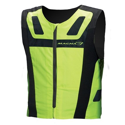 Macna Vision 4 All Plus vest in black / yellow