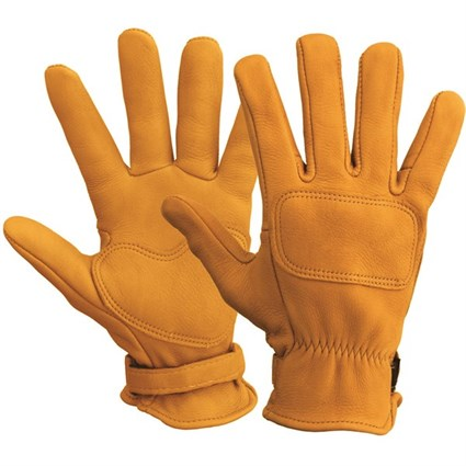 Lee Parks DeerTours gloves in tan