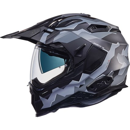 Nexx X.WED 2 helmet in grey camo
