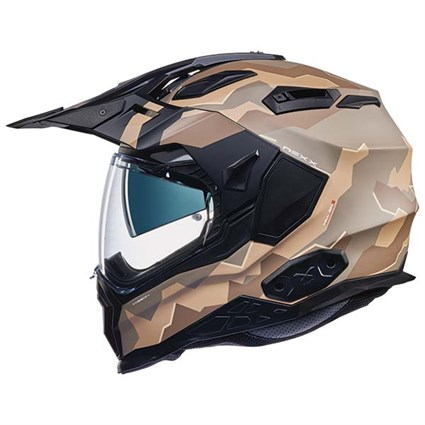 Nexx X.WED 2 helmet in sand camo