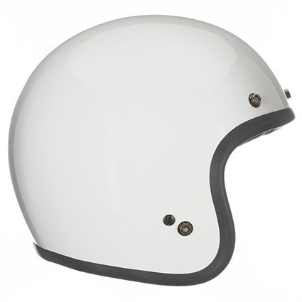 Bell Custom 500 helmet in white