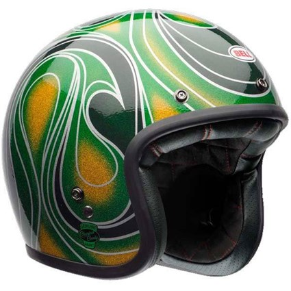 Bell Custom 500 Green Candy Green helmet