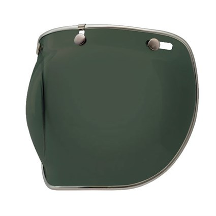 Bell Bubble Deluxe visor in wayfarer green gradient