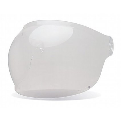 Bell Bullitt Bubble visor in clear with brown tabs