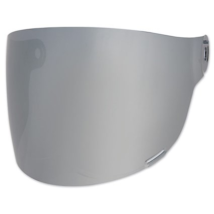 Bell Bullitt Flat visor in silver with black tabs