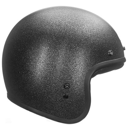 Bell Custom 500 helmet in black flake