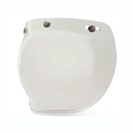 Bell 3 Snap Bubble visor in clear