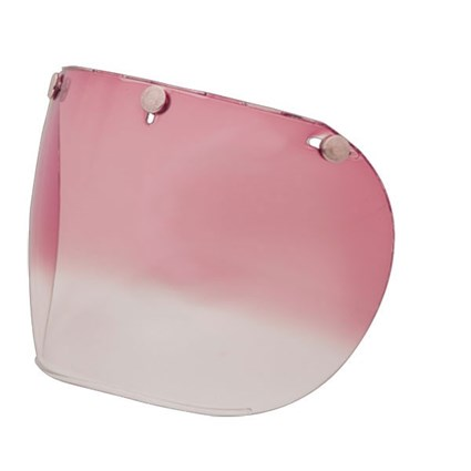 Bell 3 Snap Retro visor in pink gradient