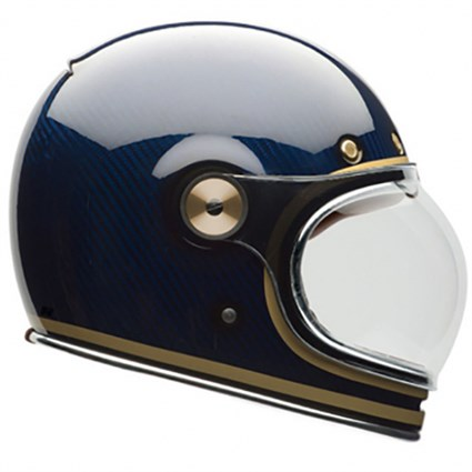 Bell Bullitt Carbon helmet in candy blue