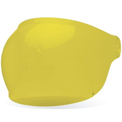 Bell Bullitt Bubble visor in yellow with black tabs