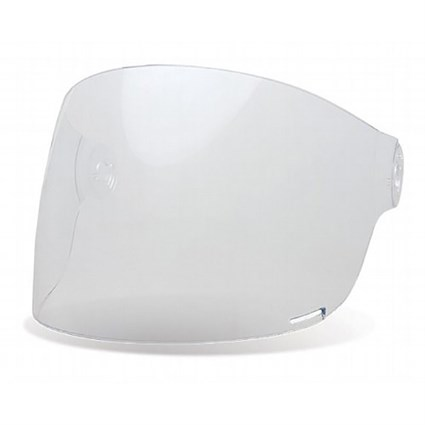 Bell Bullitt Flat visor in clear with brown tabs