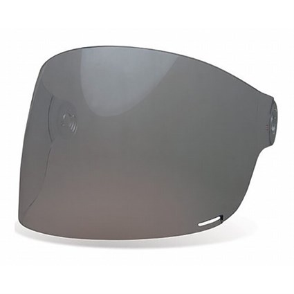 Bell Bullitt Flat visor in dark smoke with brown tabs