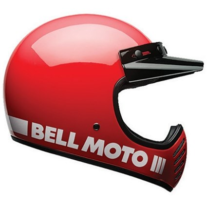 Bell Moto-3 Classic helmet in red