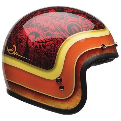 Bell Custom 500 Se Hart Luck Red Helmet