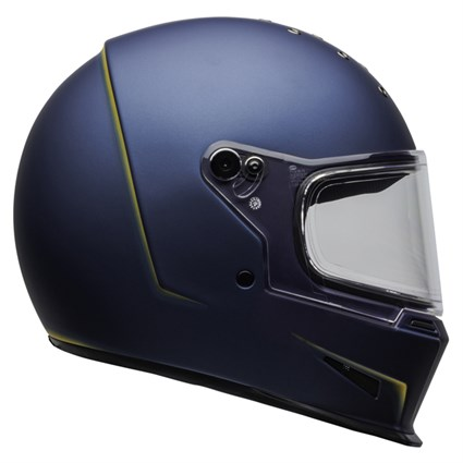 Bell Eliminator Vanish helmet in matt blue