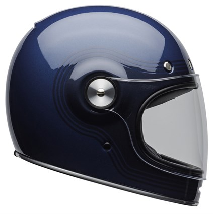 Bell Bullitt DLX Flow Gloss helmet in blue