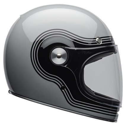 Bell Bullitt DLX Flow Gloss helmet in grey and black