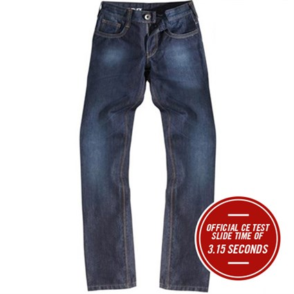 Rokker Revolution ladies jeans in blue