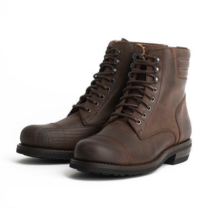 Rokker Urban Racer boots in brown