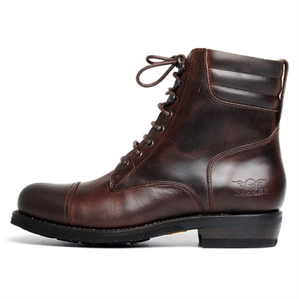 Rokker Urban Racer boots in mahogany