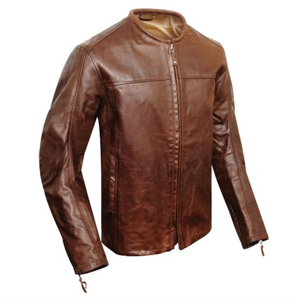 Roland Sands Brown Barfly jacket