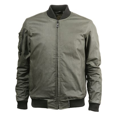 Roland Sands Squad jacket in green