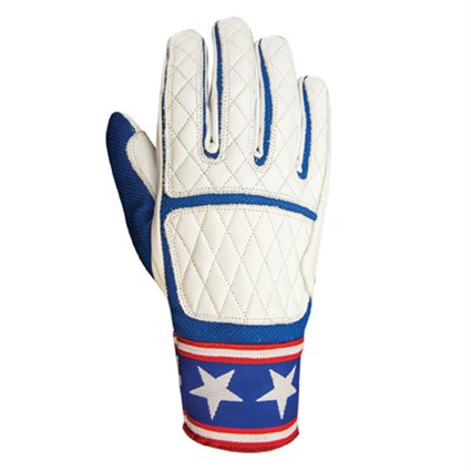 Roland Sands Peristyle gloves in white