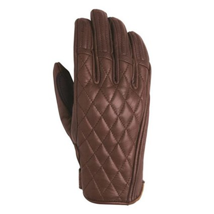 Roland Sands Ladies Riot gloves in brown