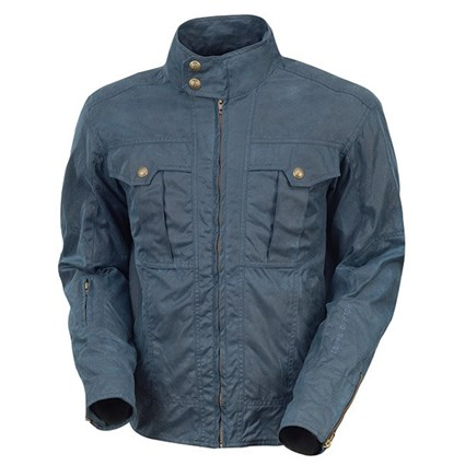 Roland Sands Kent jacket in blue