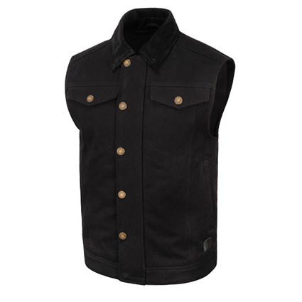 Roland Sands Ramone vest in black