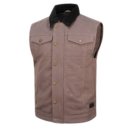 Roland Sands Ramone vest in grey