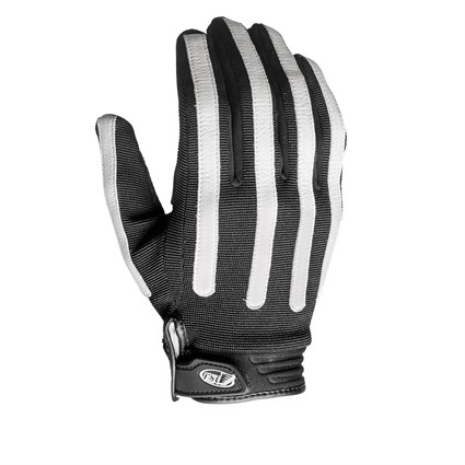 Roland Sands Strand gloves in black / white