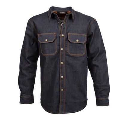 Resurgence Denim riding shirt in raw