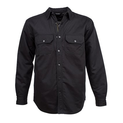 Resurgence Riding shirt in black canvas
