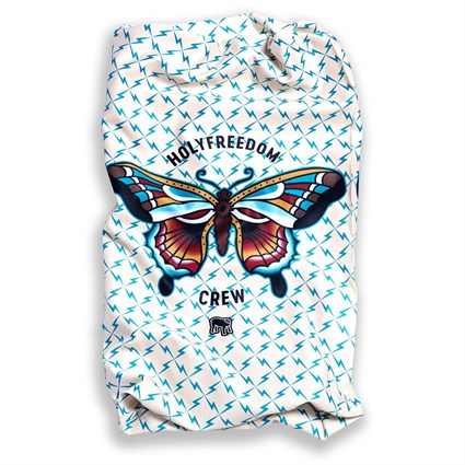 Holy Freedom Butterfly Stretch neck tube