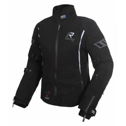 Rukka Suki Pro ladies jacket in black / silver