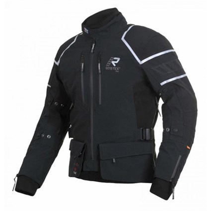 Rukka Kallavesi jacket in black / silver