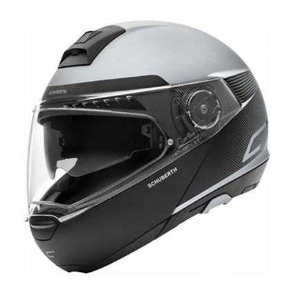 Schuberth C4 helmet in resonance grey