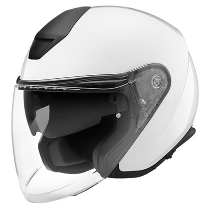 Schuberth M1 Pro helmet in gloss white