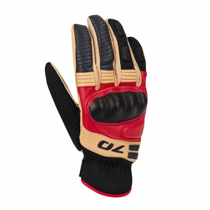 Segura Melbourne gloves in brown / red