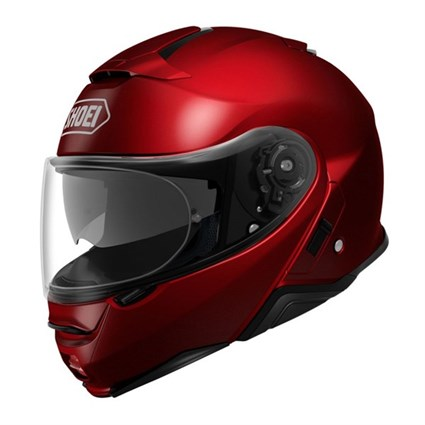 Shoei Neotec 2 helmet in wine red
