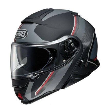Shoei Neotec 2 Excursion TC5 helmet in matt grey / black