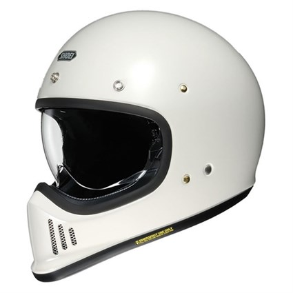 Shoei Ex-Zero helmet in off white