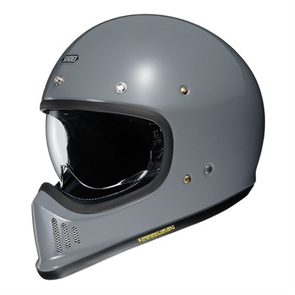 Shoei Ex-Zero helmet in grey
