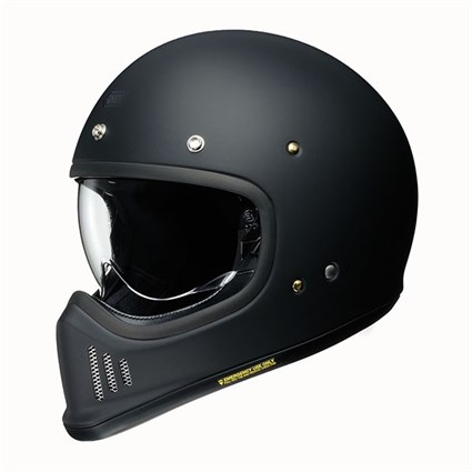 Shoei Ex-Zero helmet in matt black
