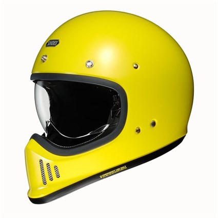 Shoei Ex-Zero helmet in yellow