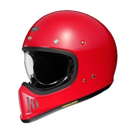 Shoei Ex-Zero helmet in red